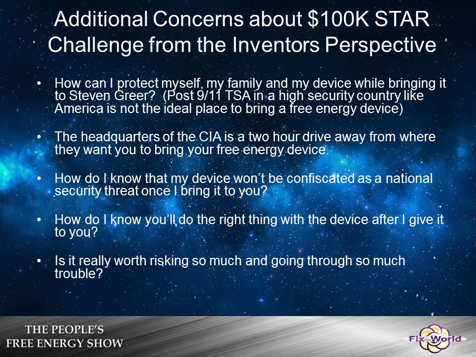 star-challenge-concerns Free Energy Mafia and the Dirty Games They Play.