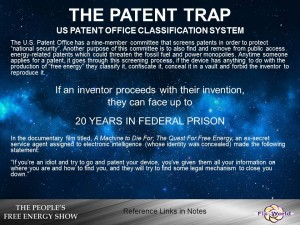 the patent trap