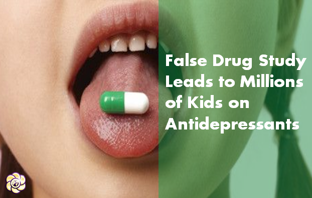 Falsified drug studies led to millions of children receiving dangerous antidepressants