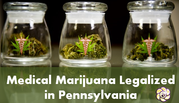 Medical marijuana legalized in Pennsylvania