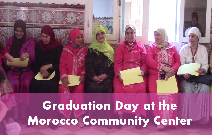 Graduation Day At Morocco Community Center