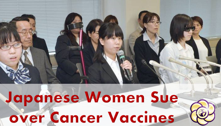 64 women to sue in three Japanese courts over health woes from cervical cancer vaccines