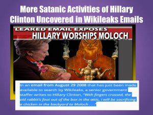 Hillary-Clinton-Chicken-to-Moloch-300x225 The Final Trump. A New Featurette Youtube Film by HopeGirl.