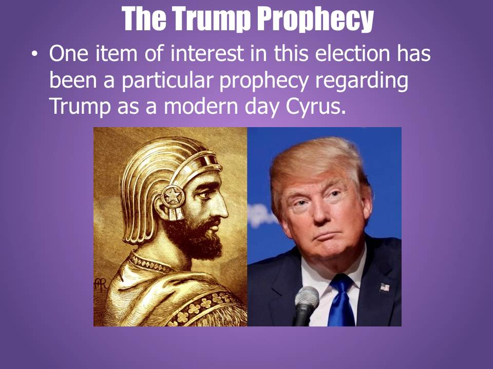 The-Trump-Prophecy The Final Trump. A New Featurette Youtube Film by HopeGirl.
