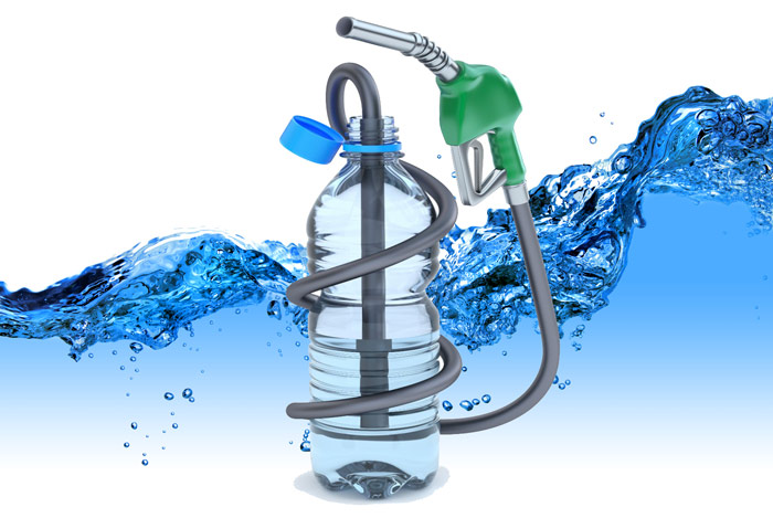 How to make diesel fuel from water and air