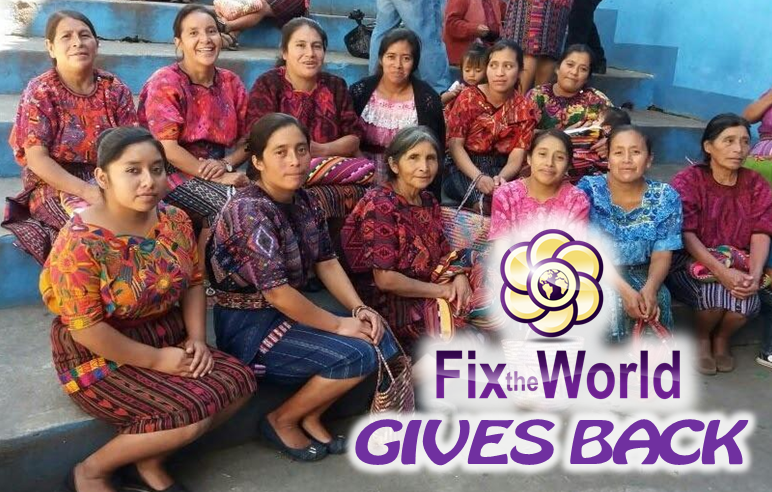 Fix the World November 2016 Giving Report