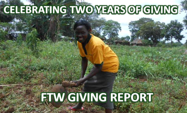 2 Years of Giving for Fix The World