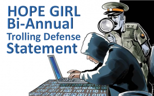 hope girl qeg trolls scam defense