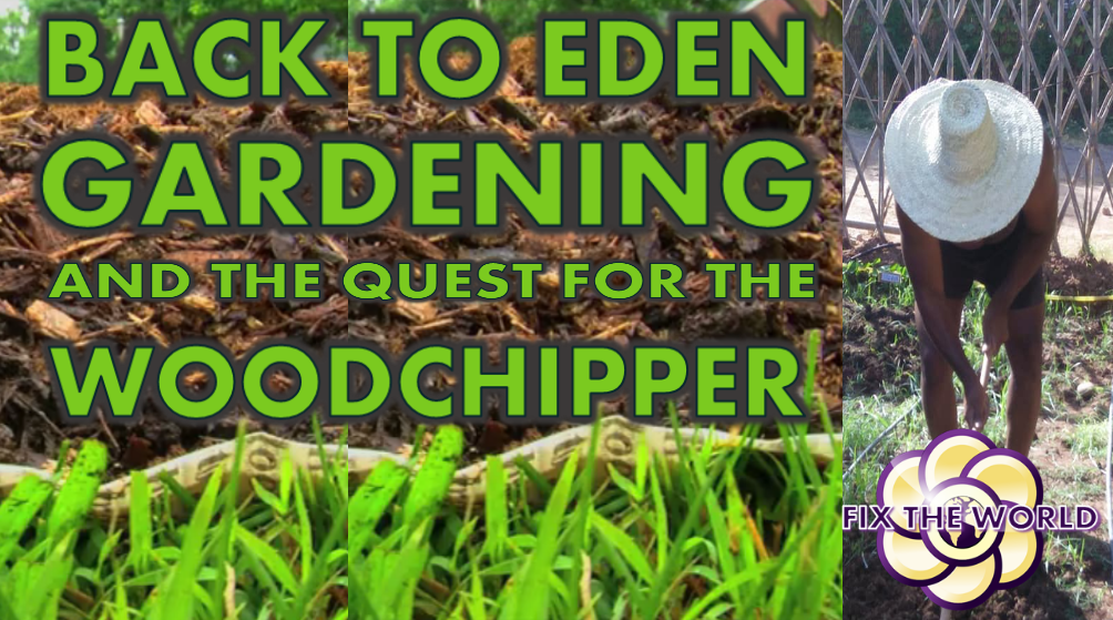 Back to Eden Gardening and Woodchips Hopegirl Vlog