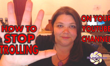 How to Stop Trolling On Your Youtube Channel