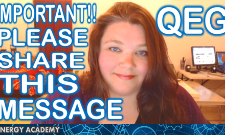Important! Please Share this Message. (QEG)