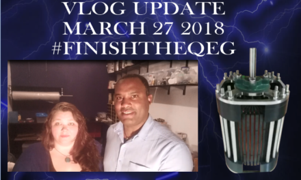#FINISHTHEQEG Vlog Update March 27 2018 (Video)