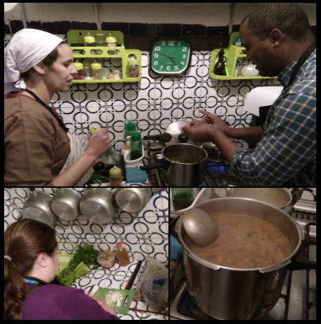 Making-Harira-soup-Marrakesh-cooking-tours Marrakesh Cooking Tours