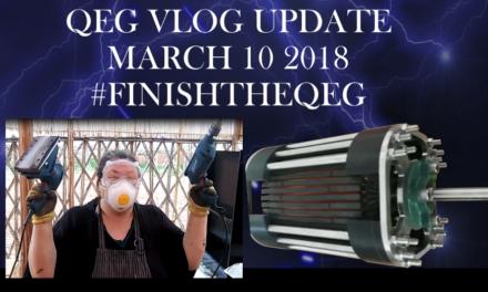 Finish the QEG Vlog Update #1