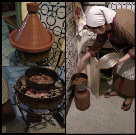 cooking-chicken-tagine-Marrakesh-cooking-tours Marrakesh Cooking Tours
