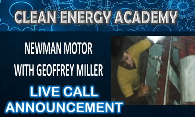 Geoffrey Miller and the Newman Motor Live Call This Sunday!