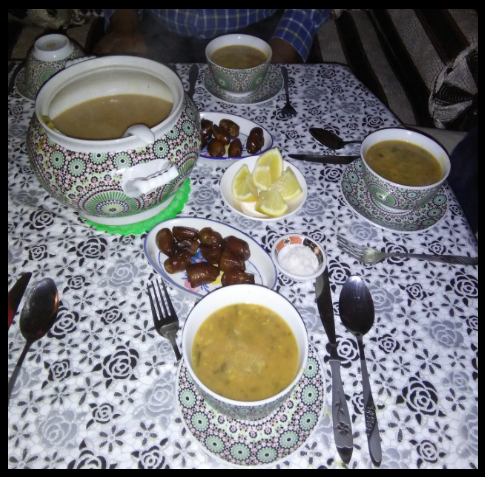 harira-soup-with-dates-Marrakesh-cooking-tours Marrakesh Cooking Tours