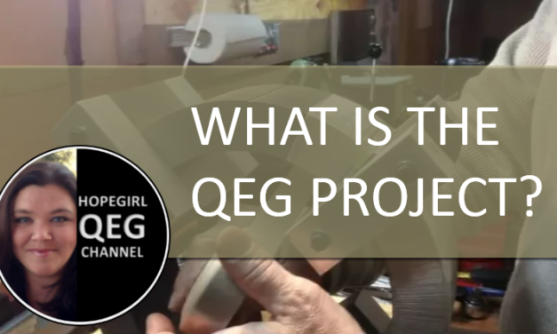 What is the QEG Project? (New Video 2018)