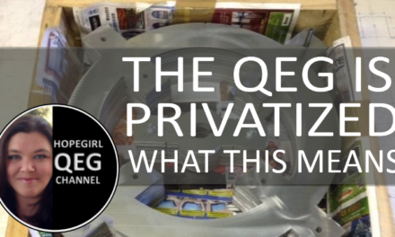 "The QEG ""Went Private"" in 2015. What this means."