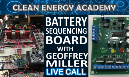 Live Call Battery Sequencing Board with Geoffrey Miller from Energy Batlabs Sunday August 12 6PM EST