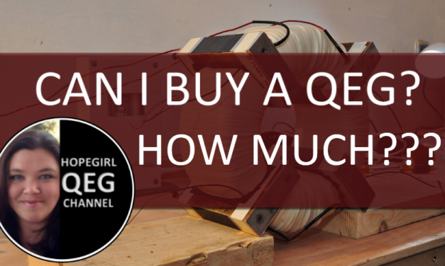How much does a QEG cost and where can I buy? (New Video)