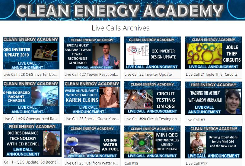 clean-energy-academy-live-call-archives Fix The World Updates for 2019