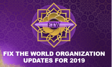 Fix The World Updates for 2019