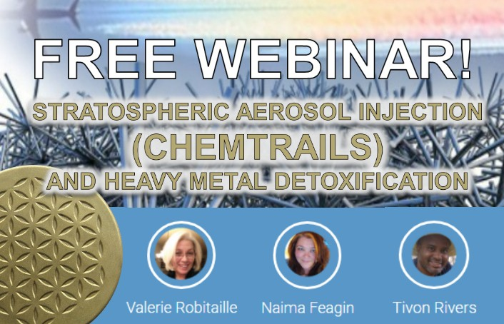 Free Webinar: Detoxing from stratospheric aerosol injections (chemtrails) February 12