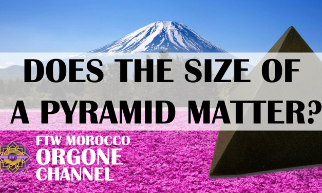 Does the size of an orgonite pyramid matter?