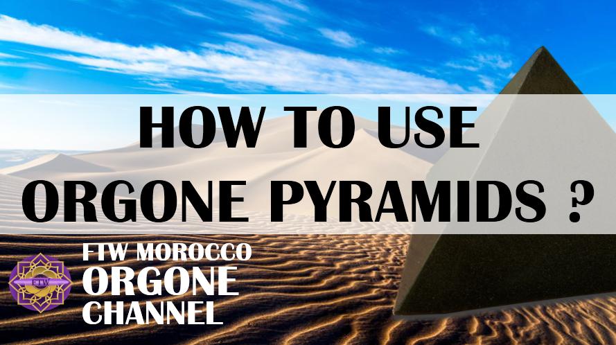 How do I use Orgonite pyramids and where do I place them?