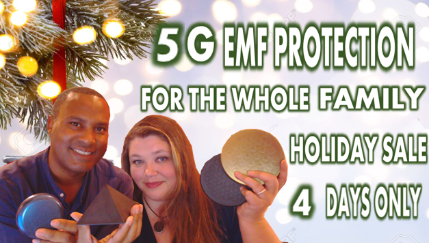 5G EMF Protection For the Whole Family Black Friday Through Cyber Monday Sale!