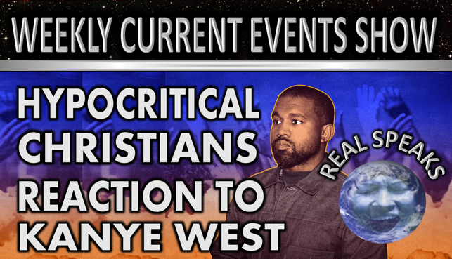 Hypocritical Christians Reactions to Kanye West Jesus Is King. Real Speaks Show