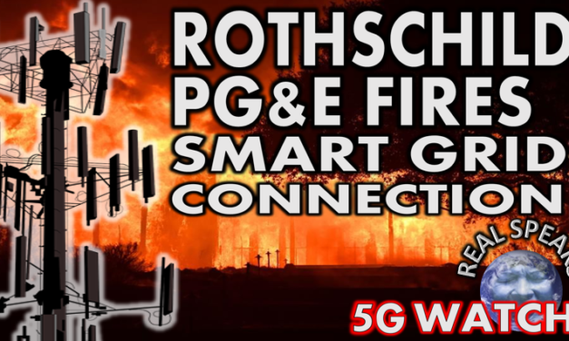 Rothschild PG&E California Fires and 5G Smart Grid Connections