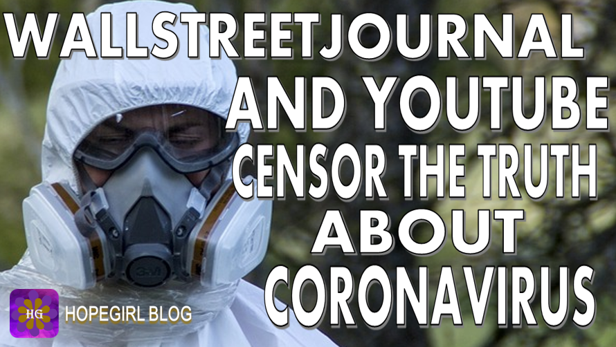 Wallstreet Journal and Youtube Censor The Truth About Coronavirus Covid19