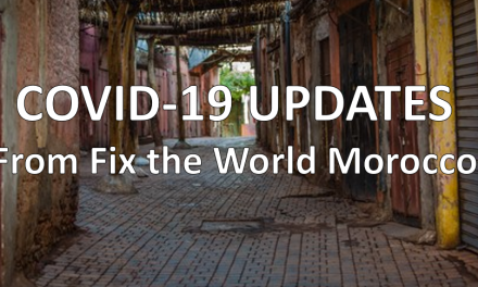 COVID-19 Updates From Fix the World Morocco