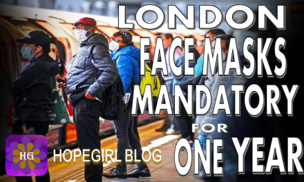 London Mandatory Face Masks For One Year