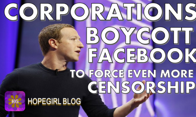 Corporations Boycott Facebook to Force Even More Censorship