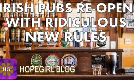 Irish Pubs Re-open with Ridiculous New Rules