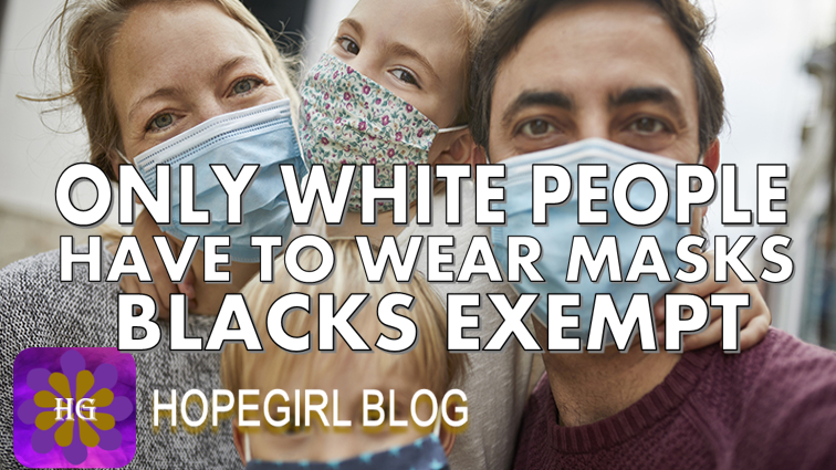 "Black People are Exempt From Wearing Face Masks In Oregon Due to ""Racial Profiling"""