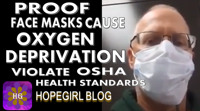 Proof You Are Not Getting Enough Oxygen Wearing a Mask