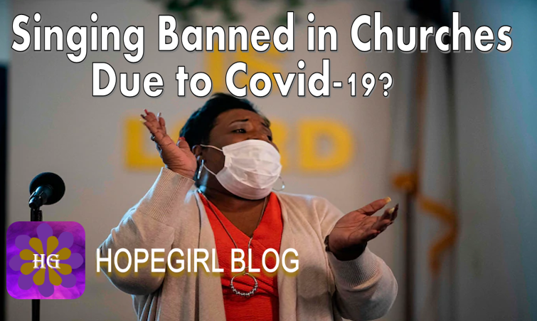 Singing Banned in Churches Due to Covid-19