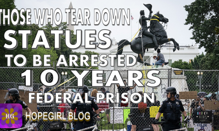 Those Who Tear Down Statues Arrested Ten Years in Prison