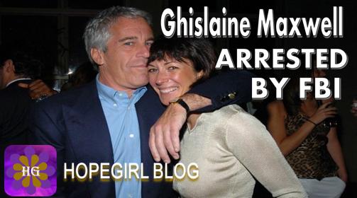 Ghislaine Maxwell Arrested By FBI