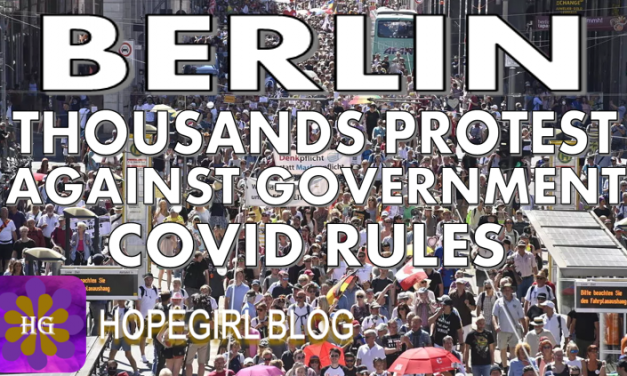 Berlin. Thousands Protest Against Government Covid Rules