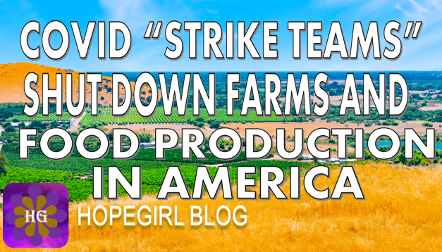 "Covid ""Strike Teams"" Shut Down Farms and Food Production in America"