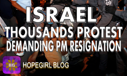 ISRAEL. Thousands Protest Demanding Resignation of Netanyahu Amidst Covid Lockdowns.