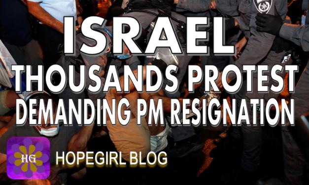 ISRAEL. Thousands Protest Demanding Resignation of Netanyahu Amidst Covid Lockdowns.